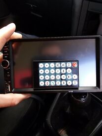 Touch screen head unit