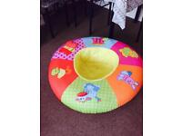 Baby Rocker, play gym and first sitting seat