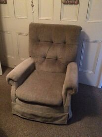 Rocking armchair