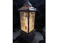 Christmas Glitter Lantern Lamp Light