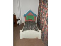 LITTLE TIKES PRINCESS COTTAGE TODDLER BED