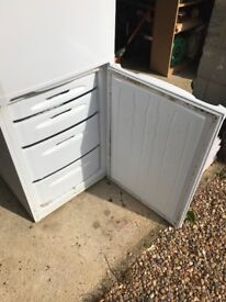 Hotpoint Fridge Freeze FFA74. 4 Years old. Good Working Condition