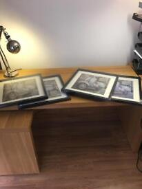 Picture frames x 4 Brand New