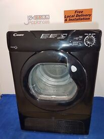 Black Candy Grand O 9kg Sensor Condenser Dryer
