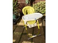 CHICCO POLLY MAGIC HIGHCHAIR LIME