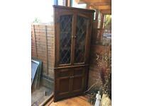 Side cabinet vintage antique