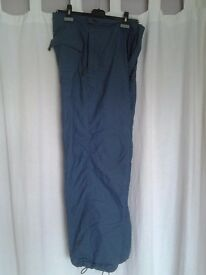 Mens Gap Fleece Lined Ski Trousers