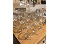 12 Wine Glasses for sale