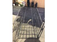 """Large Dog Crate - 3ft (92cm) wide x 2ft (60cm) deep x 2ft 3"""" (67cm) tall"""