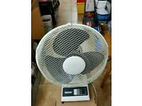 Table fan large H50cm W32cm in excellent condition