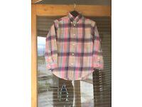 Boys Ralph Lauren shirt size 6