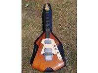 Burns Flyte Classic 70's retro Electric Guitar