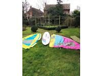 Dynamic 325 Windsurfer with 2 Sails and all kit, FREE to a good home!