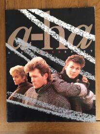 A-HA 1986 Official World Tour Programme