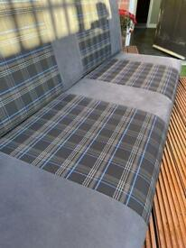 Self build motorhome upholstery seat and back