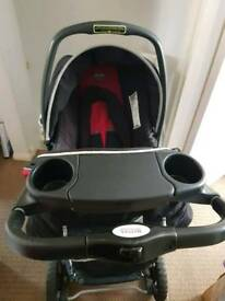 Britax travel system car seat and pushchair