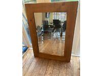 Solid Wooden Mirror