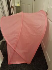 Bed canopy from ikea
