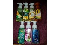 Brand New Official USA Bath and Body Works Foaming Hand Soaps x