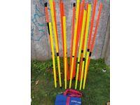 20 Used Slalom Poles