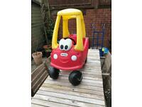 Little Tikes car (£15, winchester)