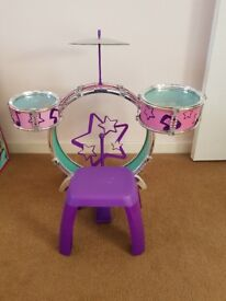 Childs toy drum kit