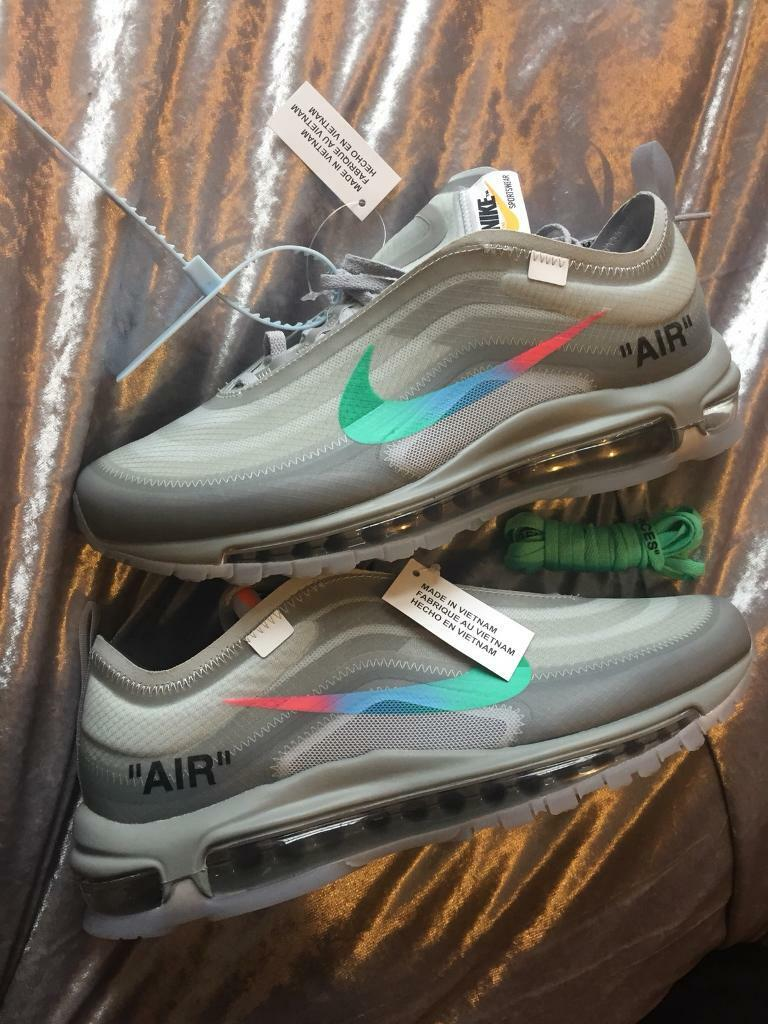 san francisco 7c8e6 7bac7 Nike Air Max 97 off white Menta THE TEN size uk 8 us 9 Eu 42.5 | in  Bradford, West Yorkshire | Gumtree