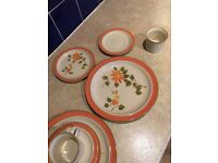 Plates, saucers, cups