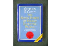 STEPHEN COVEY: THE 7 HABITS OF HIGHLY EFFECTIVE PEOPLE (plus **FREE** AUDIO CASSETTES)