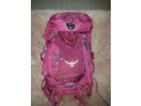 Osprey Kyte 46L -Great womens travel backpack