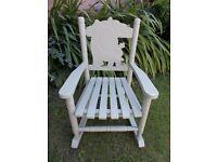 Childrens rocking chair