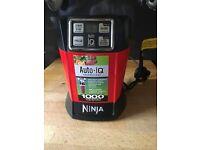Nutri Ninja Personal Blender with Auto-iQ 1000W – BL480UK – Red/Black