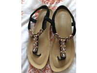 Strappy Sandals Size 7 used