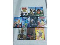 Bundle of Kids DVDs - 10 films
