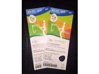 Rio Olympics 2016 Equestrian Dressage Tickets x 2