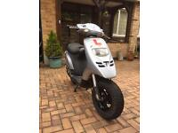 Piaggio typhoon 50cc scooter ped