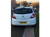 Vauxhall Corsa for sale , one owner from new very low mileage ,
