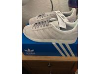 Women's Adidas Gazelles Stich and Turn trainers size 7