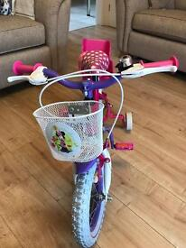 Girls kids bike Disney Minnie Mouse excellent condition hardly used