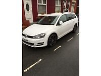 VW golf GT TDI DSG auto paddle shift sat nav parking sensors *bargain* £12950