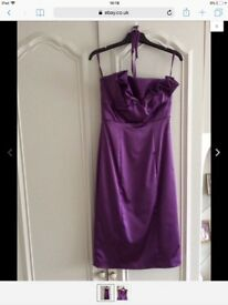 Ladies dress size 6 Purple