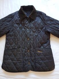 Girls Barbour Quilted Coat