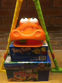 Job lot children's games superb condition Gator Golf Topsy Turtle Tumbling Chimps Jolly Octopus