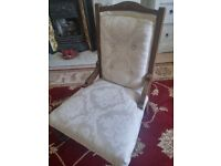 Antique Shabby Chic Chair