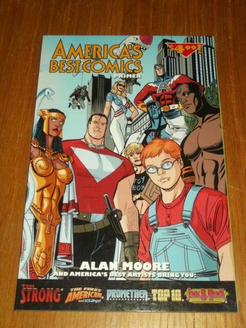 Americas Best Comics Primer by Alan Moore (Paperback)< 9781401218577