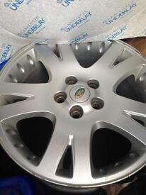 "Range Rover genuine 19"" alloy wheel"