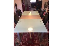 FREE - dining table and chairs