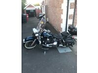 Harley Davidson Heritage Softail 1450 Twin Cam. Cheapest in the country needs tlc