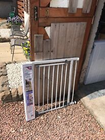 Safety Gate with extention