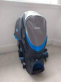 Littlelife explorer S2 carrier and rain cover. Excellent condition.